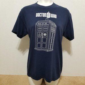 Doctor Who shirt Medium Tardis graphic